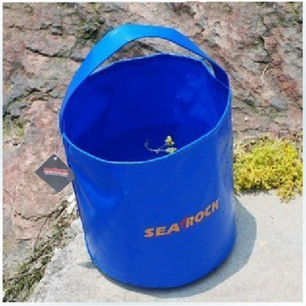 Salable SEAROCK Marialrocks Outdoor 10L Portable PVC Folding Bucket
