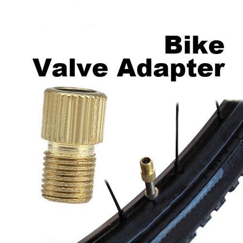 Presta to Schrader Pump Bicycle Bike Valve Adaptor New