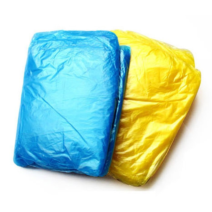 Disposable Emergency Waterproof Raincoat Hood Poncho