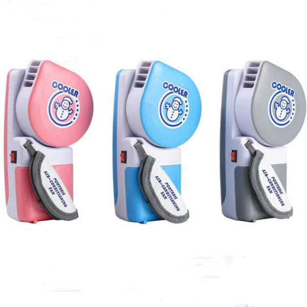 Upgraded Version USB Mini Portable Handheld Air Conditioner Cooler Fan