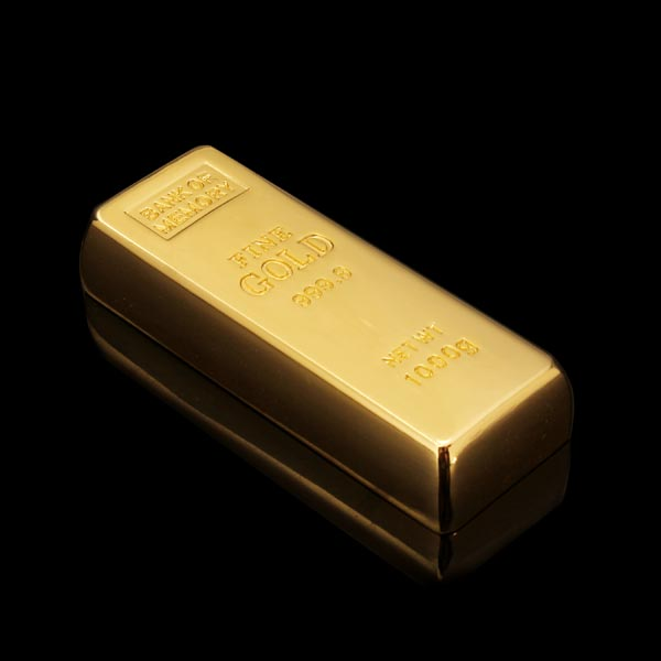 16G 32G Usb Drive Pen Drive Usb Flash Drive Memory Metal Gold Bar