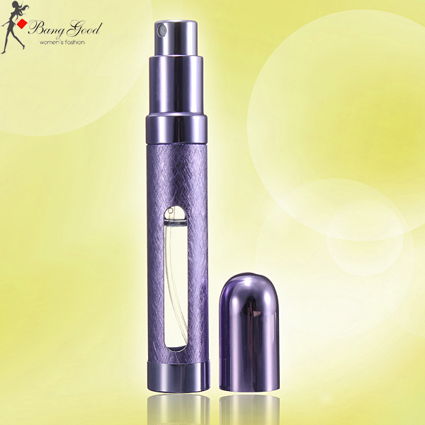 Portable Refillable Perfume Atomizer Spray Pump Bottle 12ml