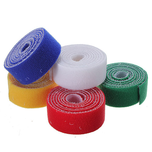 1m 25mm Durable Sticky Self Adhesive Velcro Tape Cable Tie