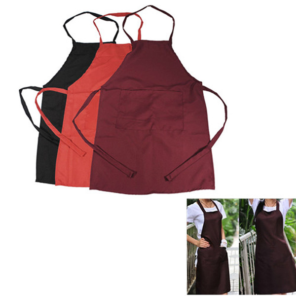 Multicolor Commercial Restaurant Kitchen Bib Aprons
