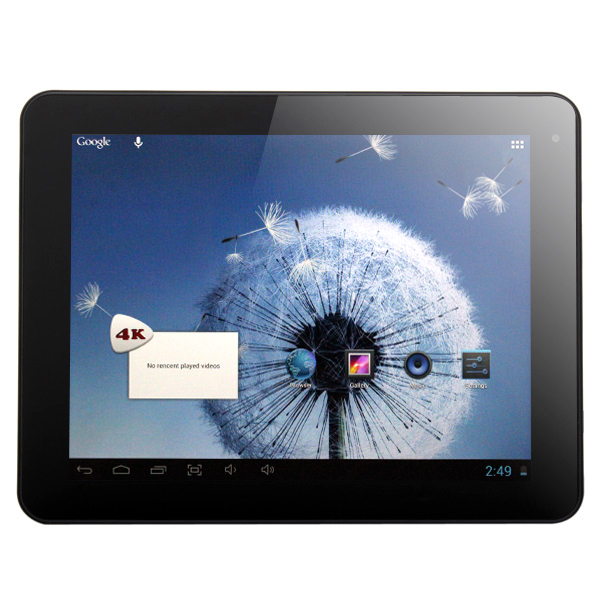 Freelander PD80 Quad Core 9.7 Inch Retina Android 4.1 Tablet