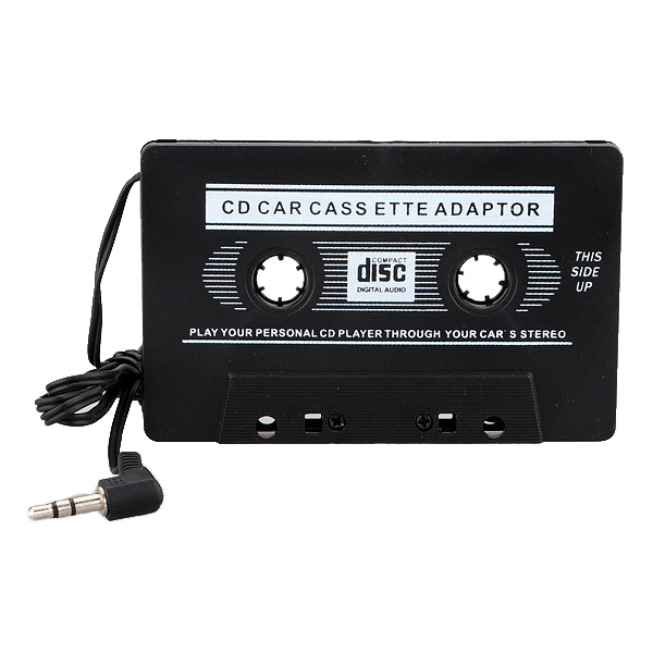 Car Audio Cassette Tape Adapter for MP3 CD Mini Disk Player