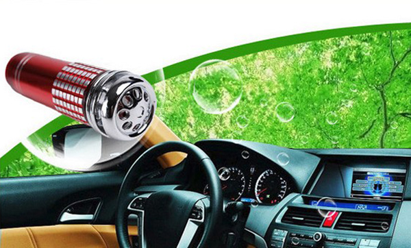 Auto Car Fresh Air Purifier Oxygen Bar Ionizer