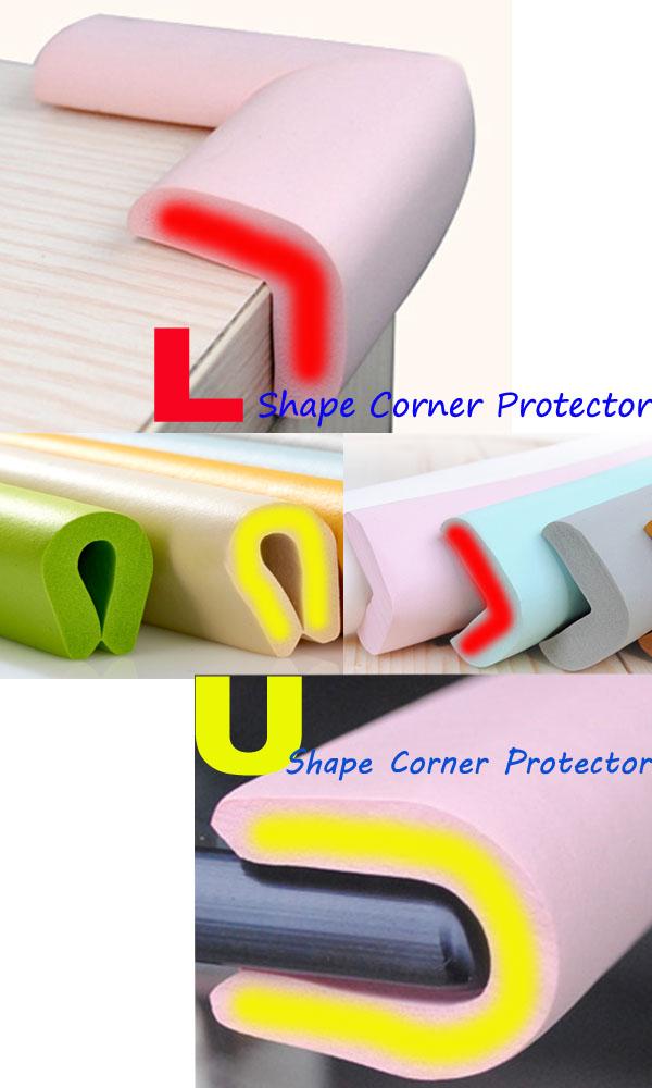 200CM U-Shape Glass Table Corner Protector Edge Cushion Baby
