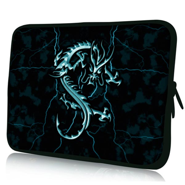 Dragon Pattern Spill-resistant Zipper Sleeves Case For 7 Inch Tablet