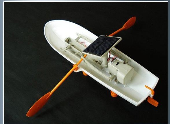Mechanical Zhongtian Equipment Model Solar Powered Boat AB01601
