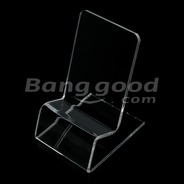 Mount Stand Holder Single Tier Display Shelf for Cellphone iPhone