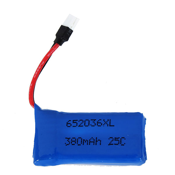 Upgraded 25C 3.7V 380MAH Battery For Hubsan X4 H107 Ladybird RC Quadcopter
