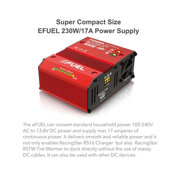 The Efuel 230W/17A Power Supply