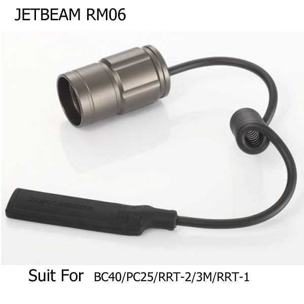 JETBeam RM06 Remote Pressure Control Switch For 3M/RRT2/M1X Etc.