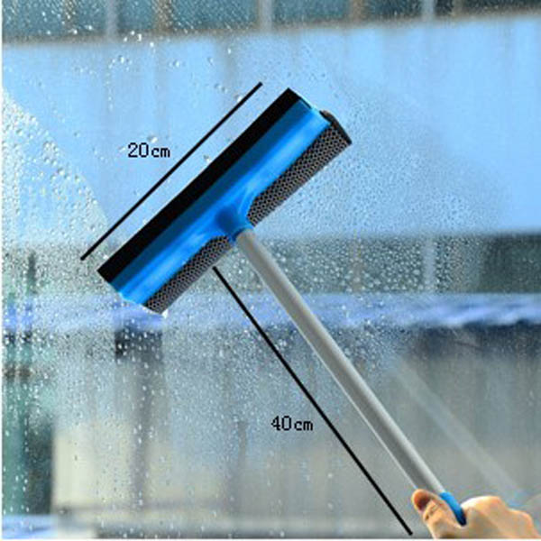 Lengthen Handle Removable Two-sided Glass Cleaner