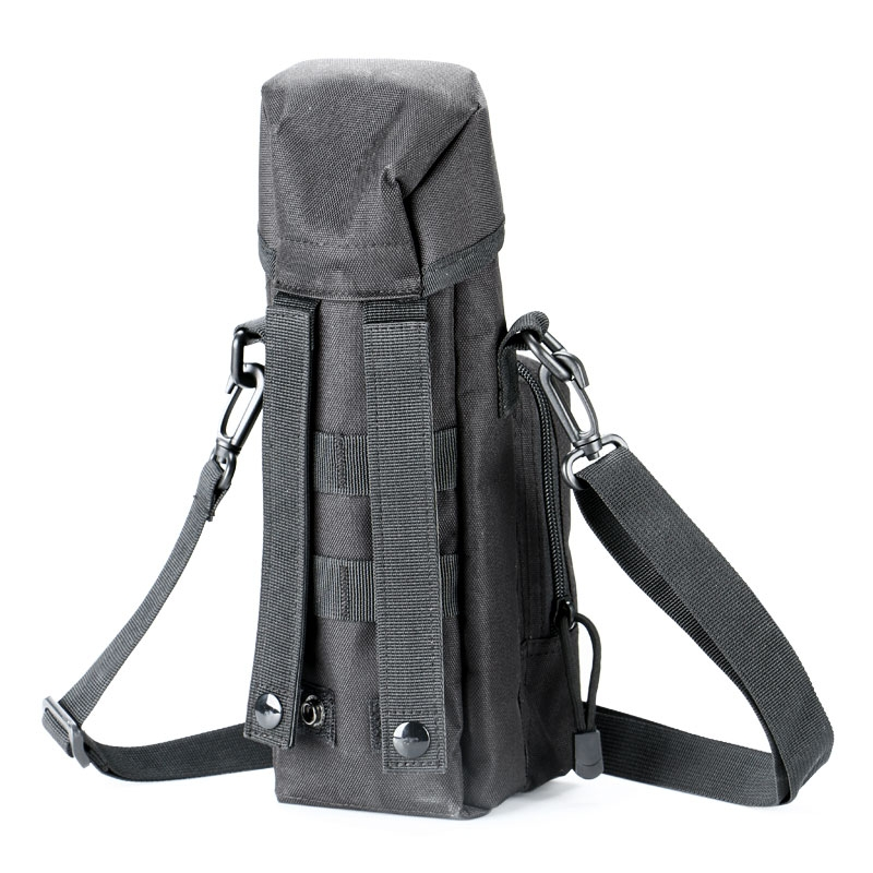 Tactical Hiking Camping Molle Water Bottle Holder Belt Carrier Pouch Bag Green