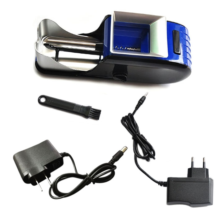Automatic Electric Cigarette Rolling Machine Tobacco Roller Injector Maker