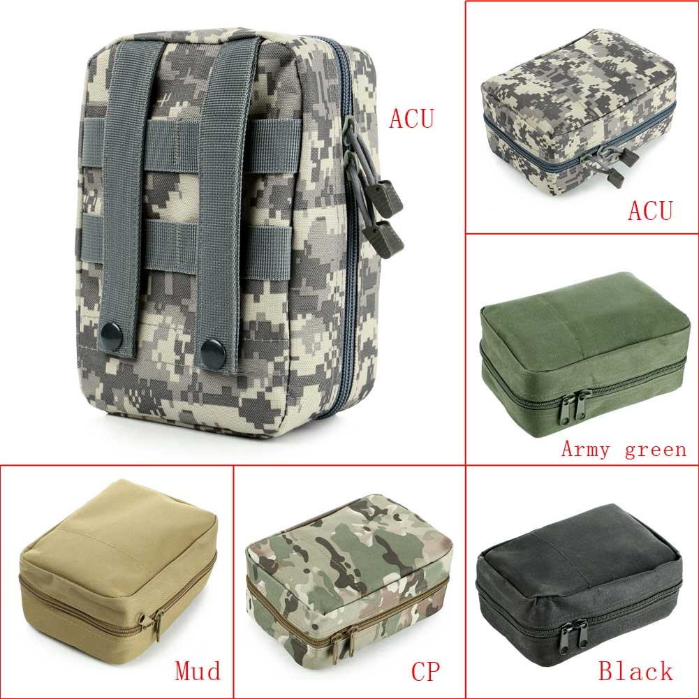 Outdoor Hunting Airsoft Tactical Military Medical First Aid Bag Pouch Case