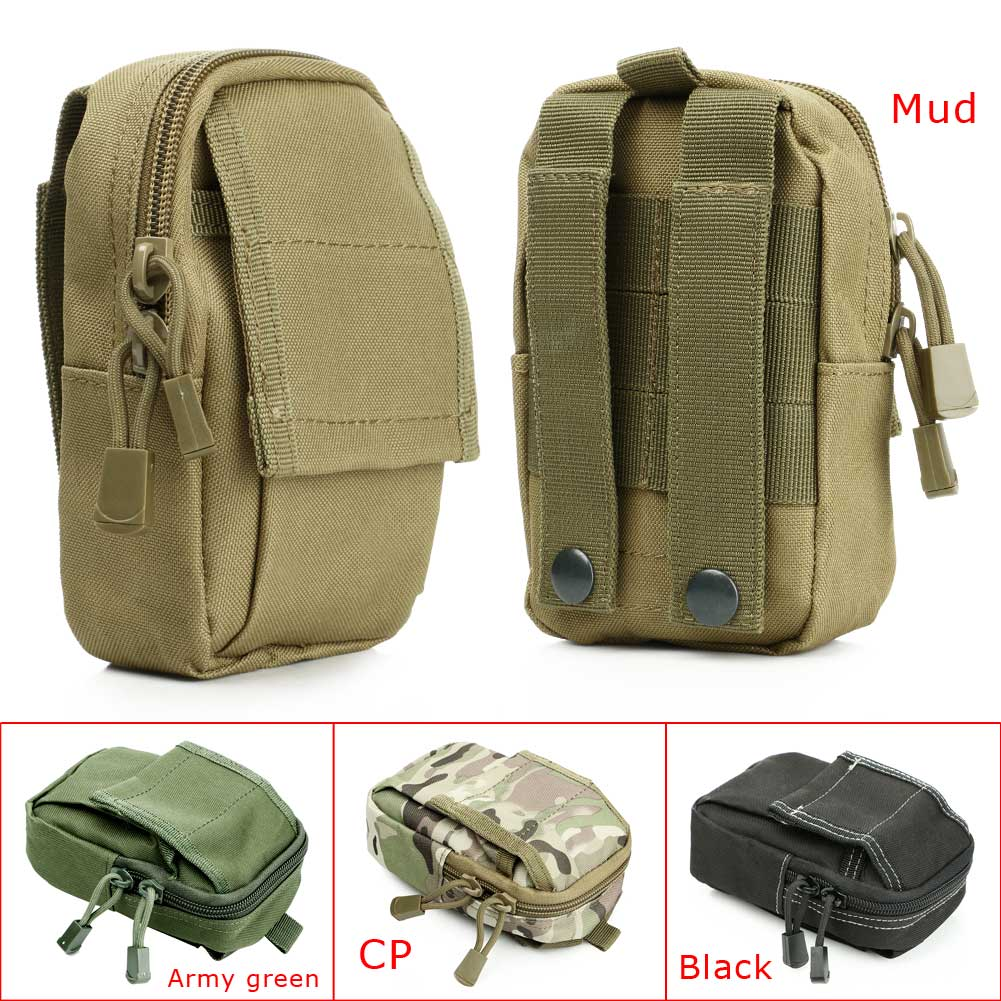 Outdoor Military Tactical Camping Hiking Travel MP3 MP4 Waist Belt Bag