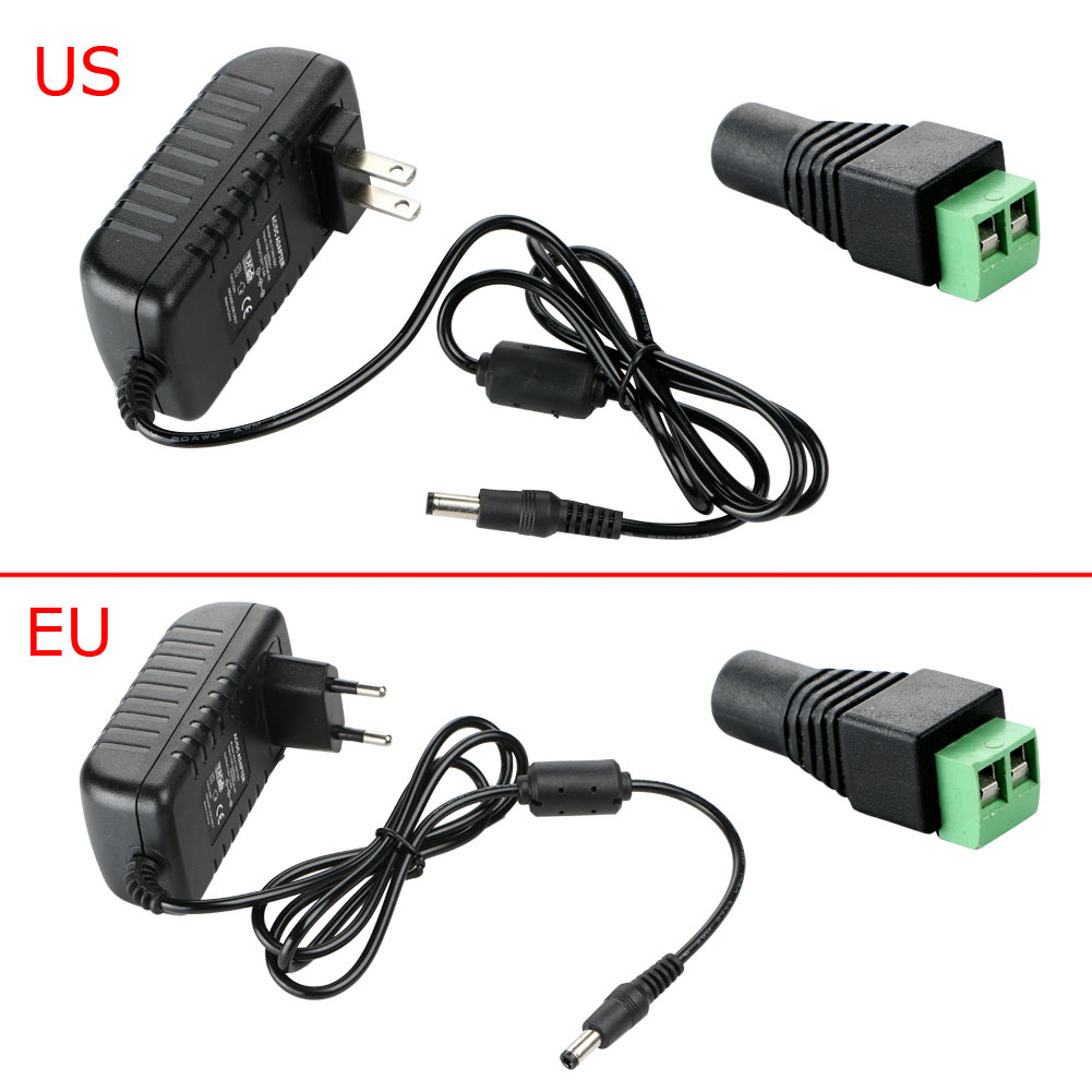DC 12V 3A Switching Power Supply Adapter For AC 110V- 240V 50/60H Adapter