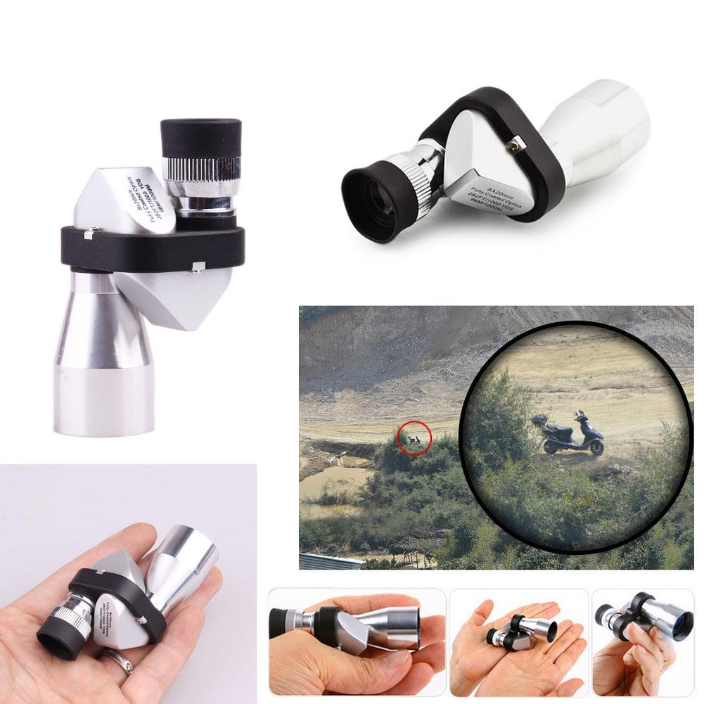 Mini-Pocket-8x20-HD-Corner-Optical-Monocular-Telescope-Eyepiece-for-Outdoor-New thumbnail 2