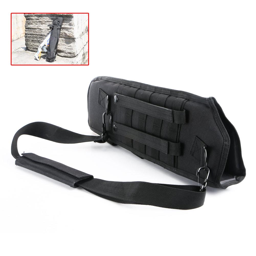Black Adjustable Military Tactical Shoulder Gun Holster Magazine Pouch Bag