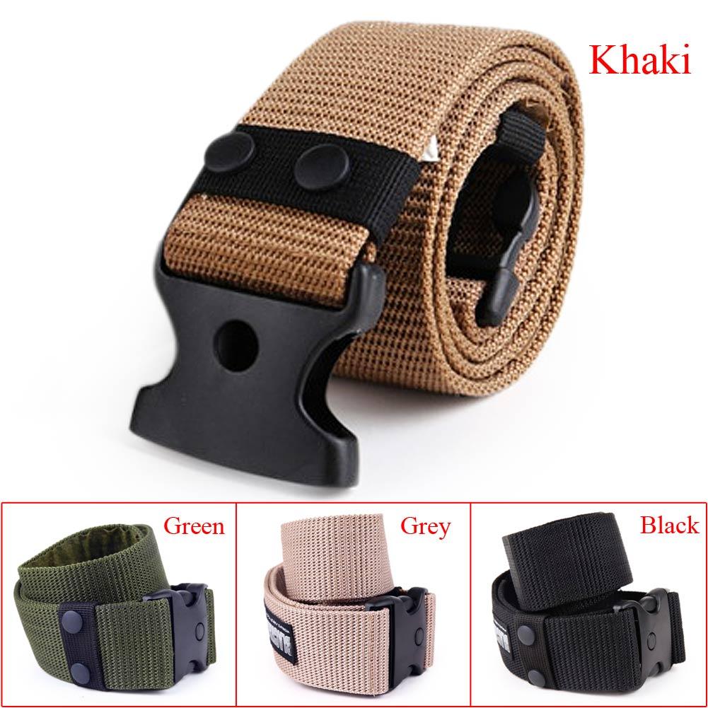 Tactical Belt Adjustable Survival Tactical Security Police Utility Belt