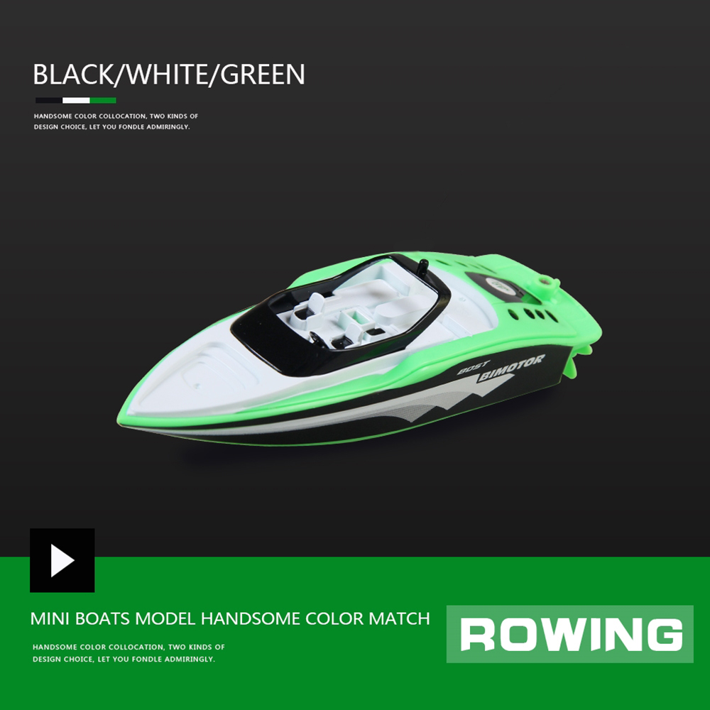 Portable Mini RC High Speed Racing Boat Remote Control Speedboat Toy