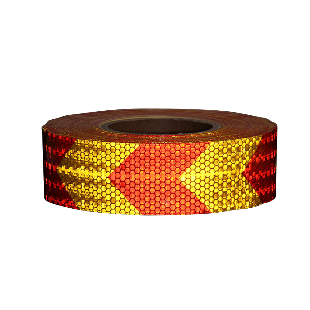 3Meters Reflective Warning Tape Strip Fluorescent Safety Sticker Arrow Mark 17