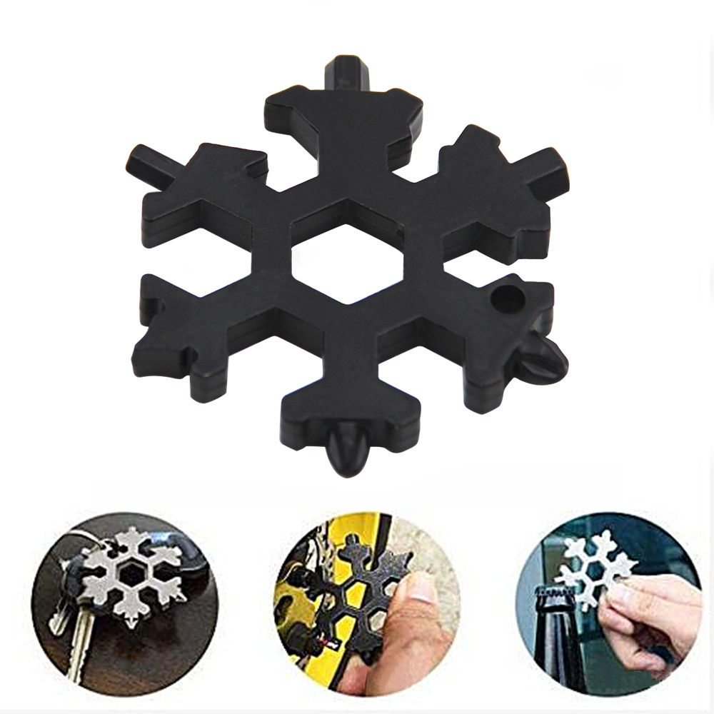 18-In-1-Multi-Tool-Stainless-Steel-Snowflake-Shape-EDC-Flat-Cross-Screwdriver thumbnail 4