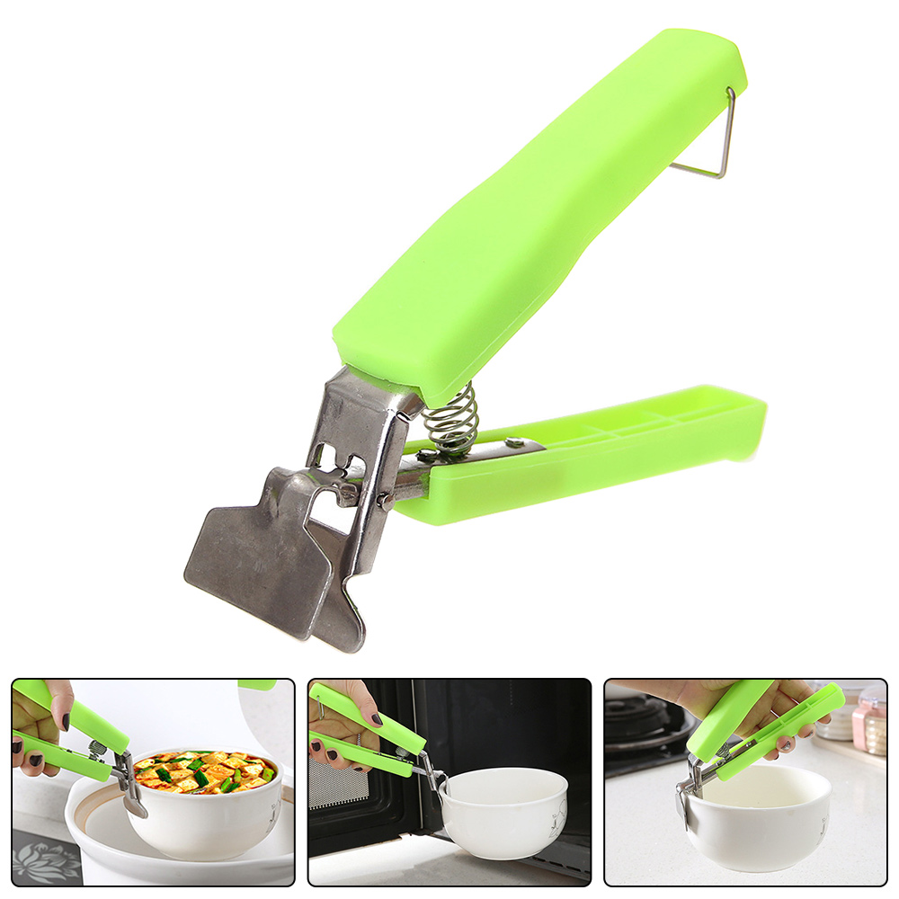 New Handheld Bowl Dish Plate Clip Clamp Microwave Oven Grips Holder Heat Proof