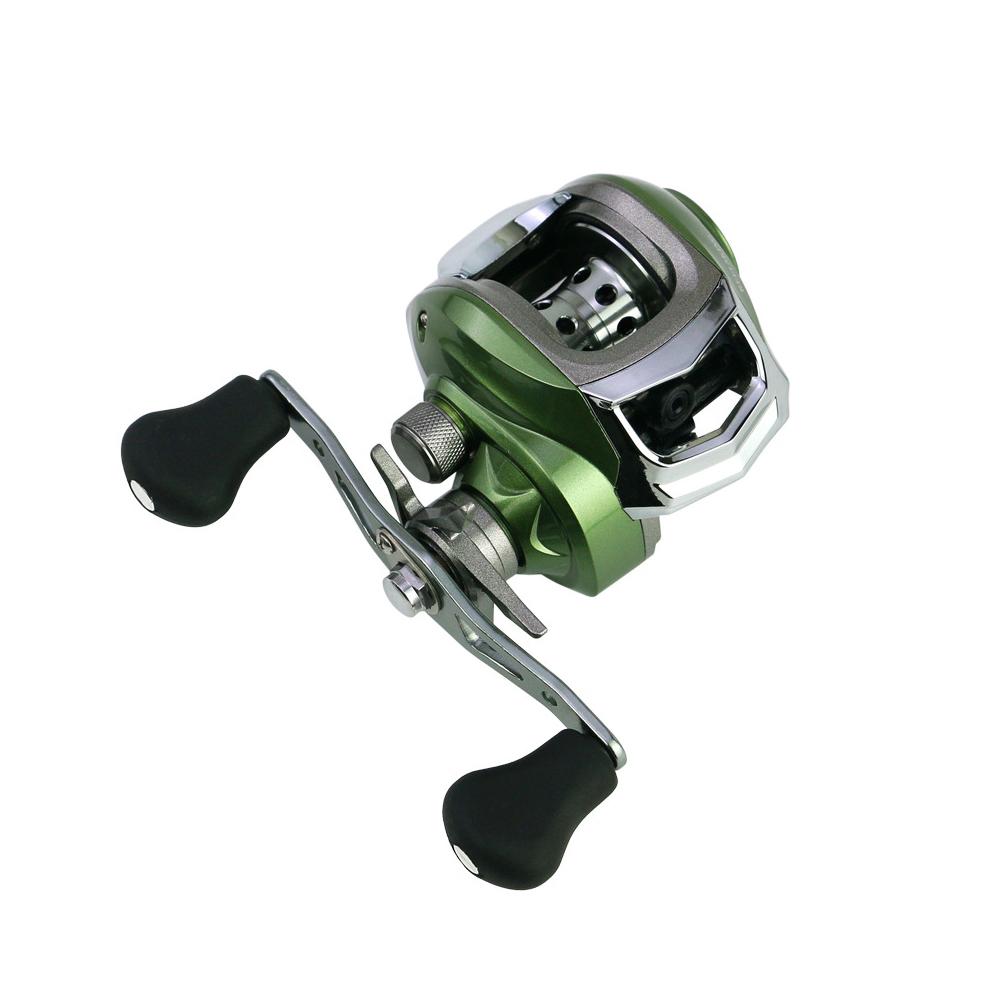 New Stainless Steel Adjustable Magnetic Brake Waterdrop Fishing Reel Wheel