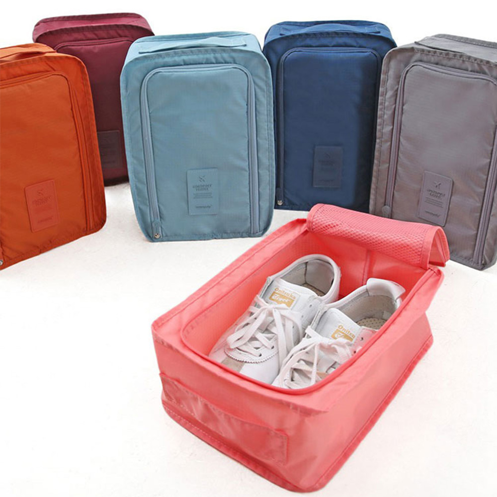 Shoes Pouch Travel Storage Tote Dust Laundry Toiletry Wash Bag Organizer Zip H