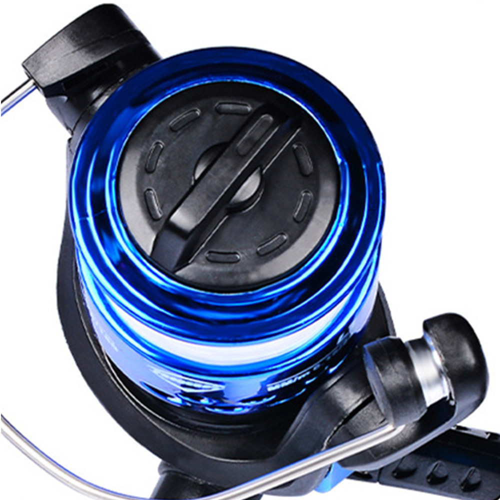Spinning Fishing Reel High Speed Smooth Fish Wheel for Saltwater LL200 Blue NICE