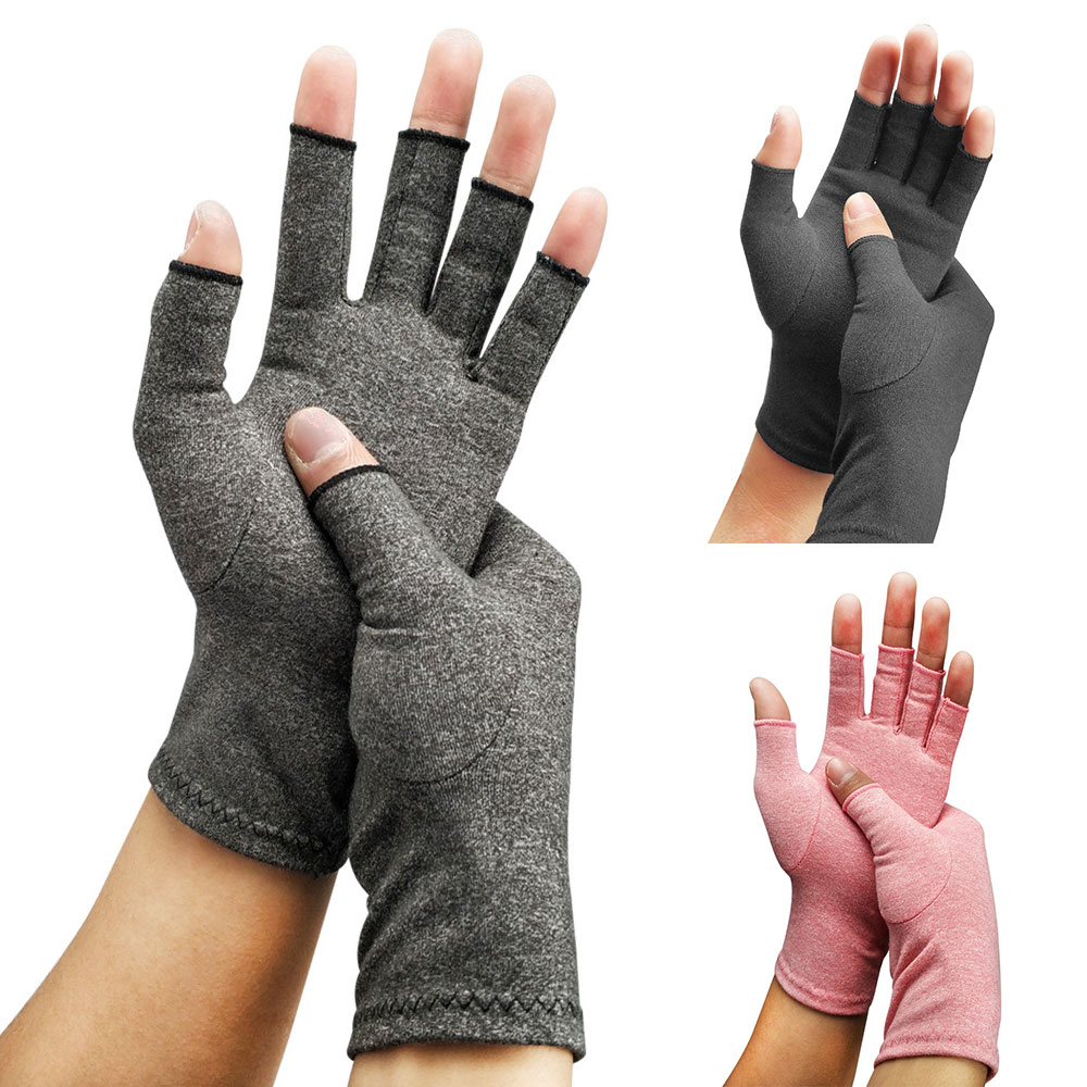 Details About Well Compression Arthritis Gloves Arthritic Joint Pain Relief Hand Mittens