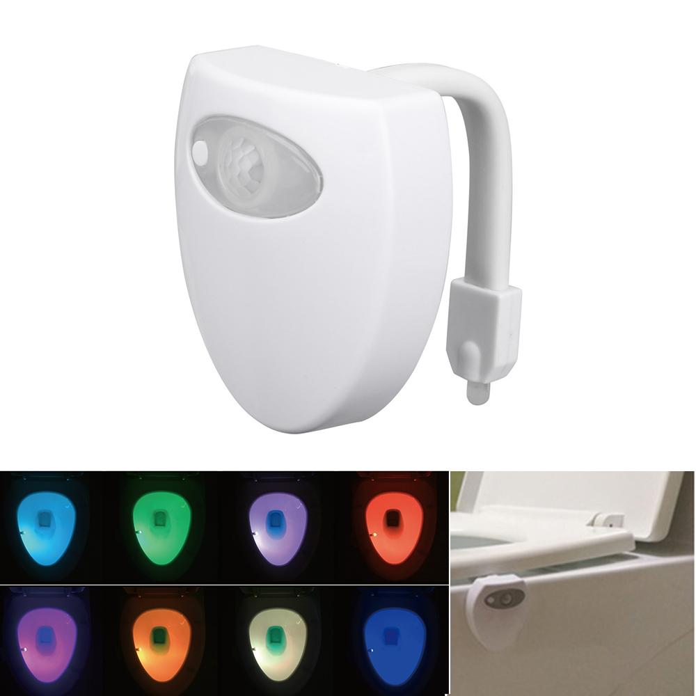 LED WC Nachtlicht Bewegung sinduktion für Badezimmer Wasserdicht