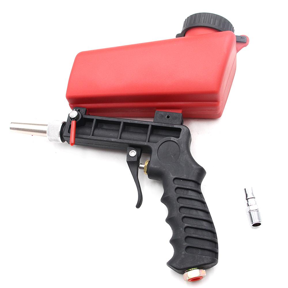 Details about Air Sandblasting Gun Hand Held Sand Blaster Portable Shot  Media Blasting Adjust