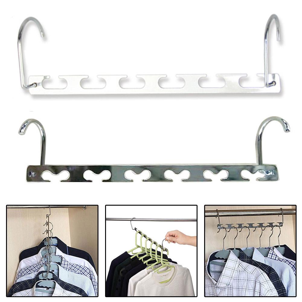 5 Piece 3D Space Saving Hanger Magic Clothes Hanger with Hook Closet Organizer