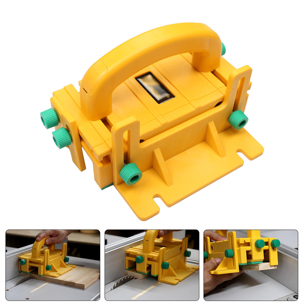 3D Safety Pushblock Woodworking Tool for Table Saws Router T