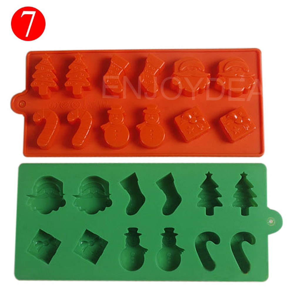17 Styles Silicone Face Fondant Mold Gum Pastry Mould Cake Decorating Sugarcraft