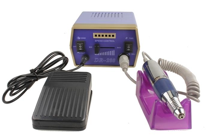 Wholesale Electric Nail File Drill Glazing Machine Manicure Pedicure Kit EU Plug Blue
