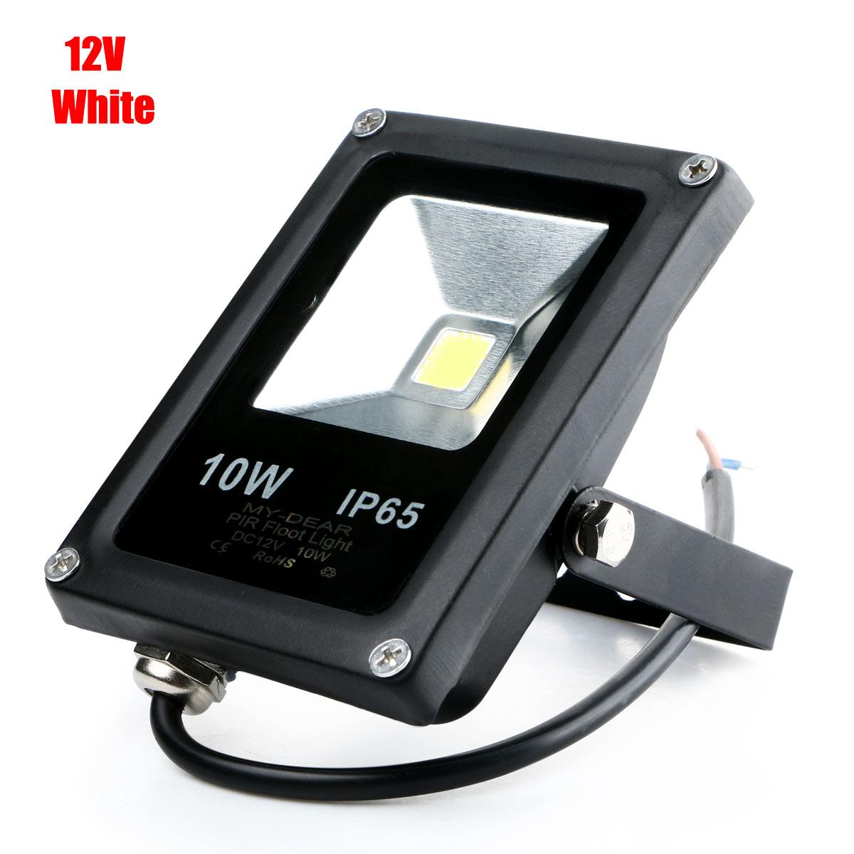 10W Waterproof IP65 Outdoor Flat LED Light Landscape