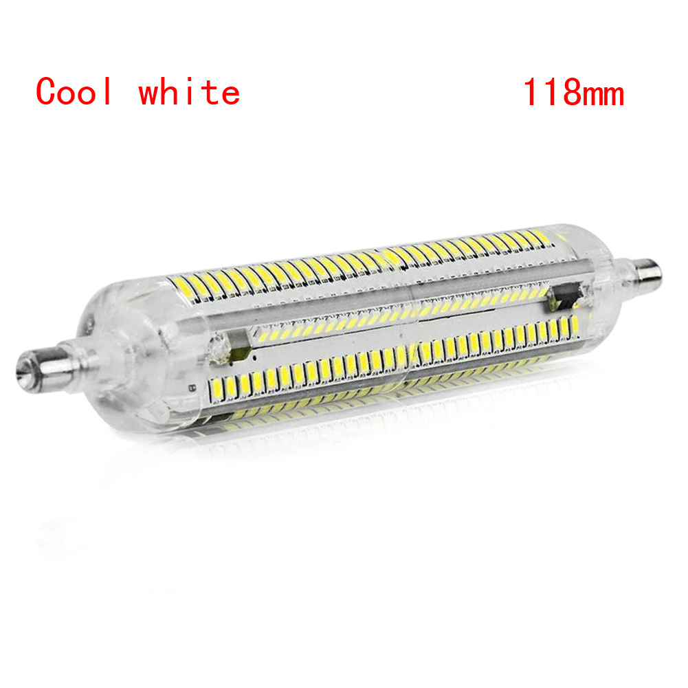 R7S 78/18mm 3014 SMD LED Horizontal Plug Corn Light Silicone Lamps 10W/15W