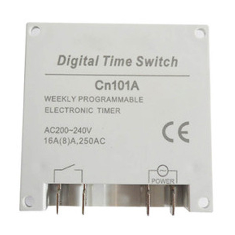 AC220V-240V 16A LCD Digital Programmable Control Power Timer Time Switch