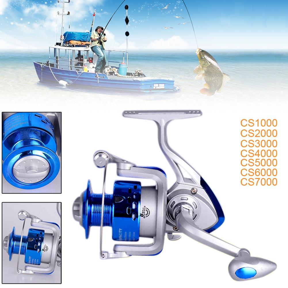 8BB Ball Bearing Plastic Saltwater/Freshwater Fishing Spinning Reel