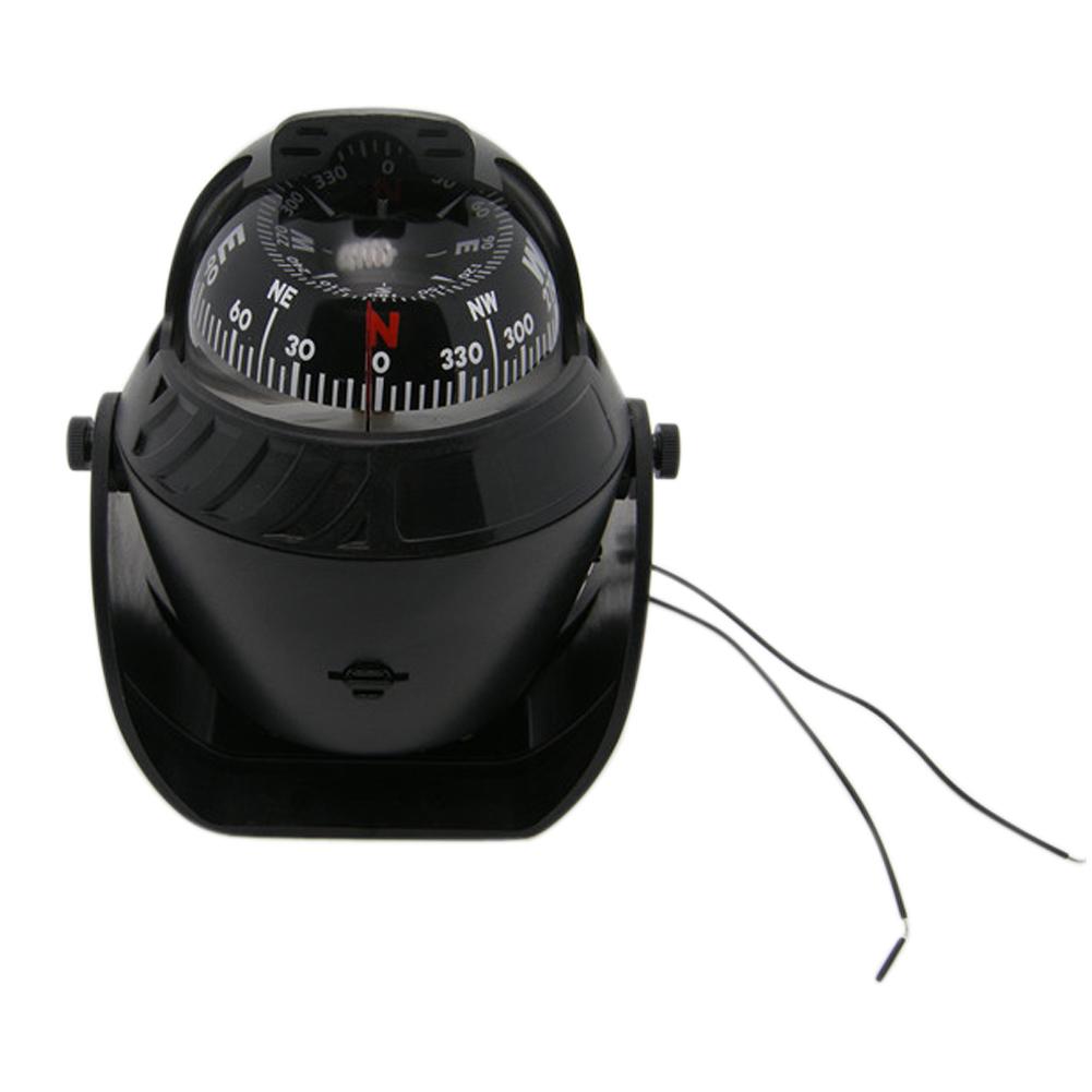 Raffiniertes Kupfer Kompass für Camping Wandern Outdoor-Aktionen mit Nachtlicht