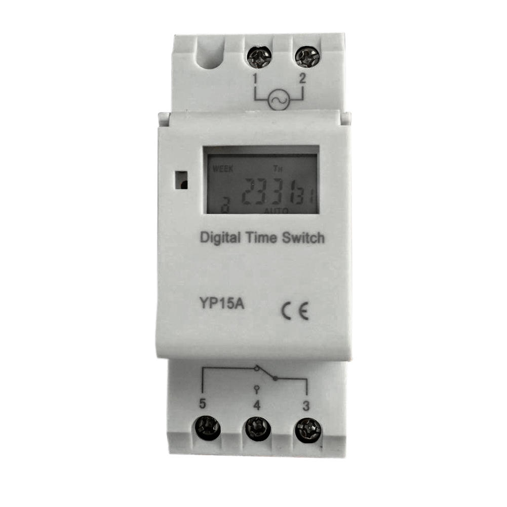 Microcomputer LCD Digital Programmable Electronic Relay Switch Time Timer