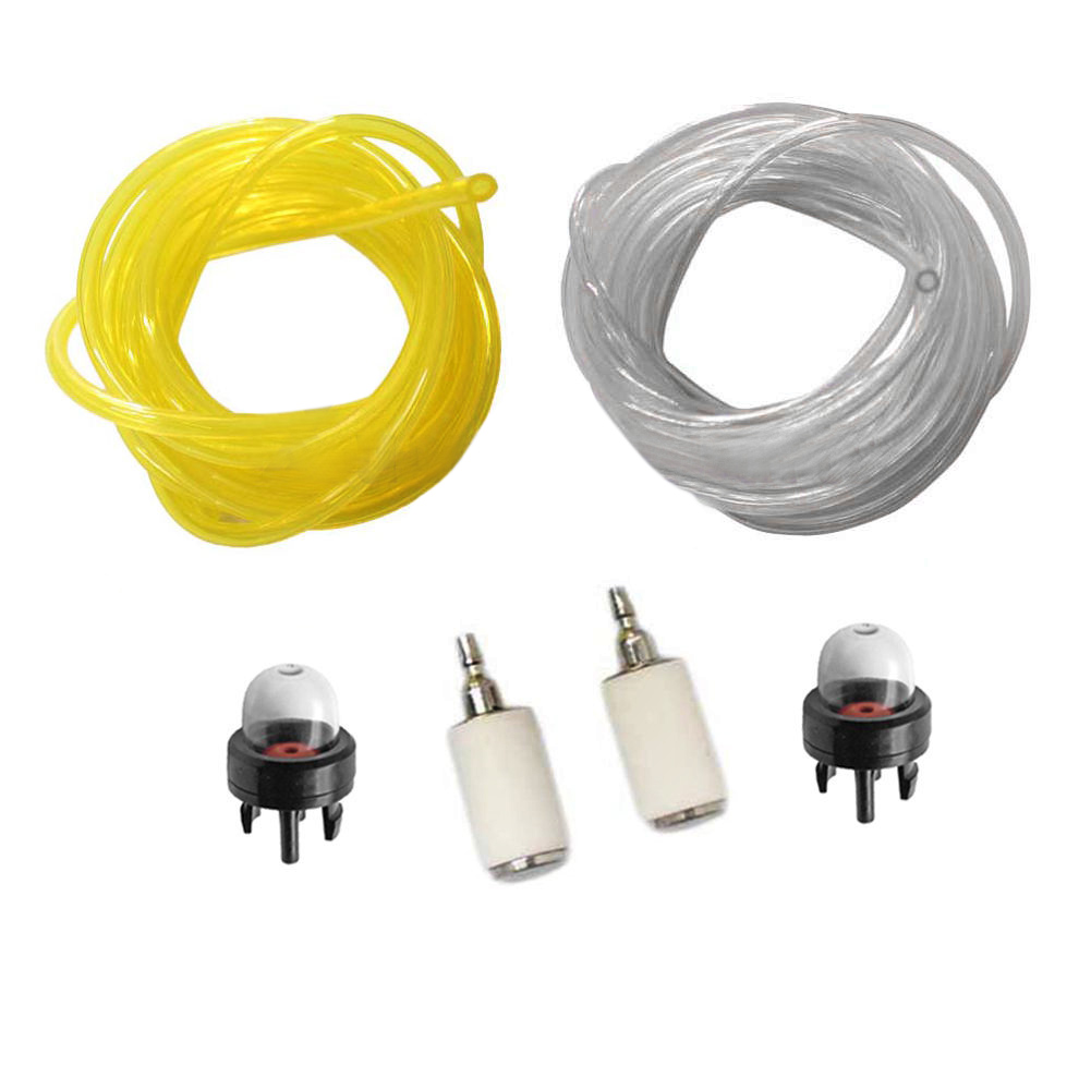 3 Feet Fuel Lines Filter Snap in Primer Bulb Chainsaw Accessaries Set