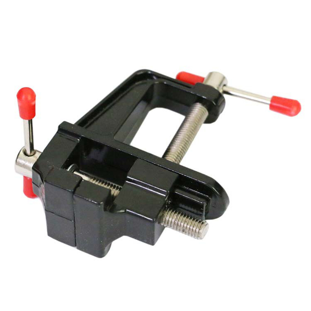 MiniTable Vise Aluminum Alloy Bench Vice Swivel Lock Clamp Craft Hobby Cast