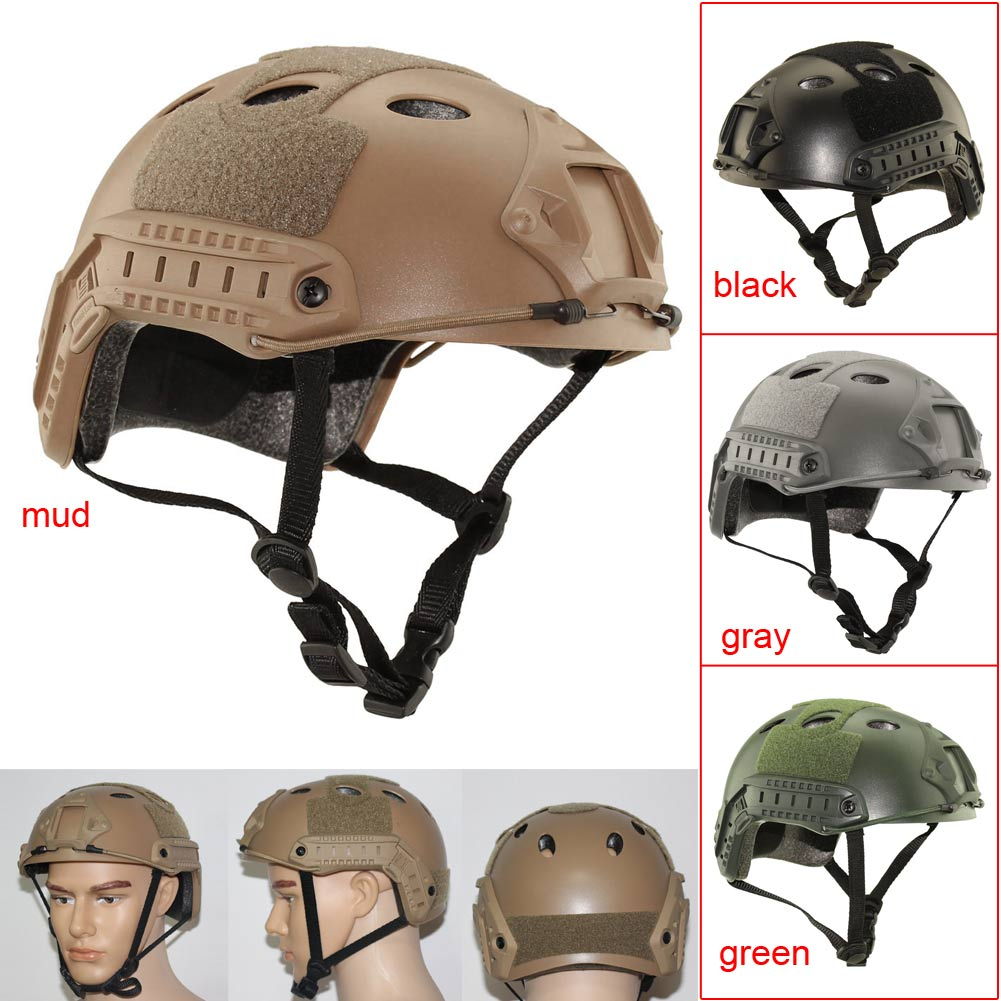 Outdoor Lightweight Military Tactical Protective Fast Base Riding Helmet